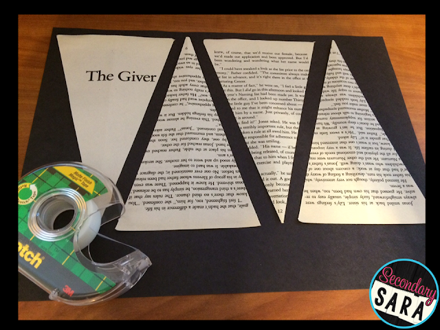 Are you interested in making literary banners? These make for an awesome English classroom decoration! This blog post provides a step-by-step tutorial for making literary banners out of old books, which you can then use to decorate your ELA classroom!