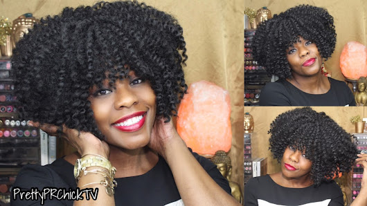 Freetress Equal Hand-Tied Crochet Braid Synthetic Wig Single Rod Twist Out Wig