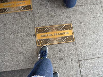 Aretha Franklin en Harlem, Nueva York