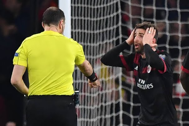 Arsenal-Milan 3-1: il Milan è eliminato dall'Europa League
