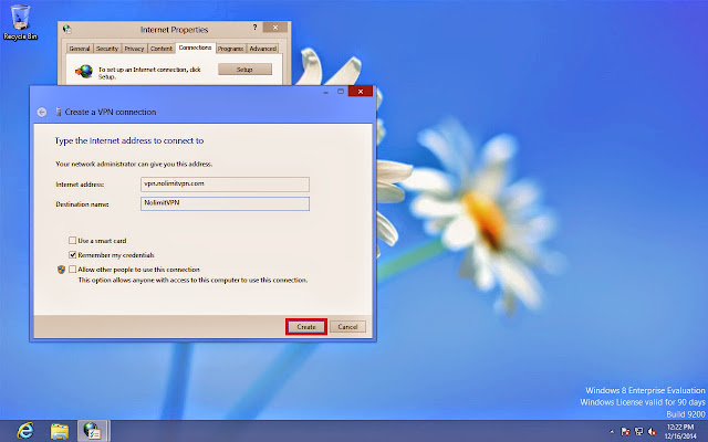 Tutorial lengkap setting VPN Server di Windows 8