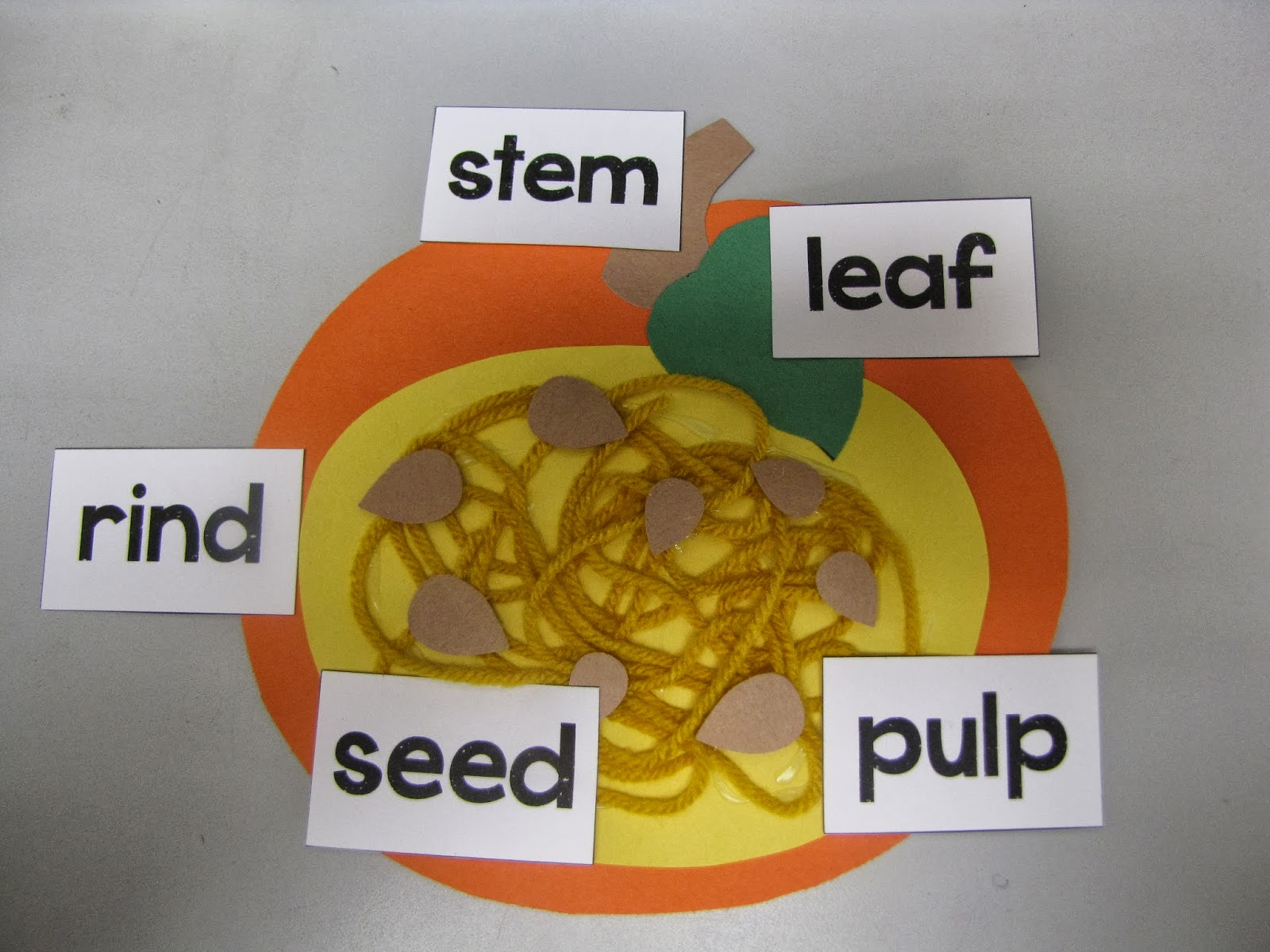 Pumpkin Seed Diagram Single Switch Wiring Kindergarten Craftiness Five For Friday
