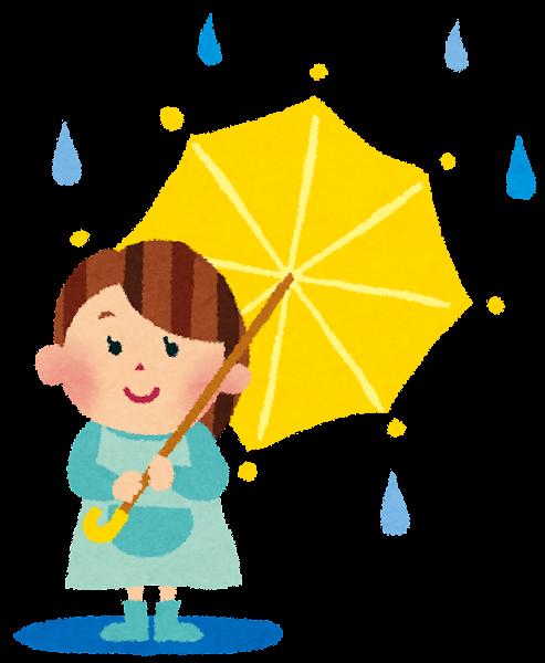 「梅雨 イラストや」の画像検索結果