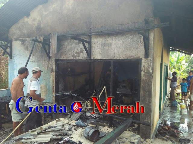 Gara-gara Bocah Bermian Korek Api, Kios Bensin Rudi Ludes Terbakar