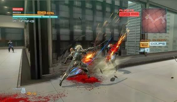 Gameplay Metal Gear Rising Revengeance