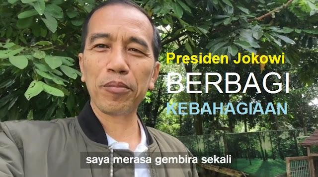 Presiden Jokowi Buat VLOG Lagi - Kelahiran Dua Ekor Anak Kambing di Istana Bogor Buat Hati Presiden Bahagia