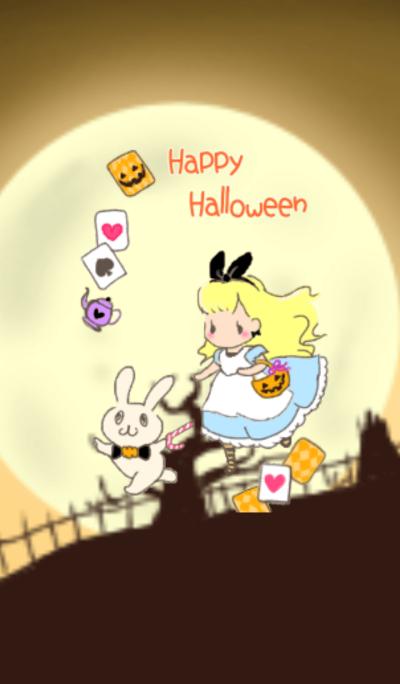 Alice Halloween theme