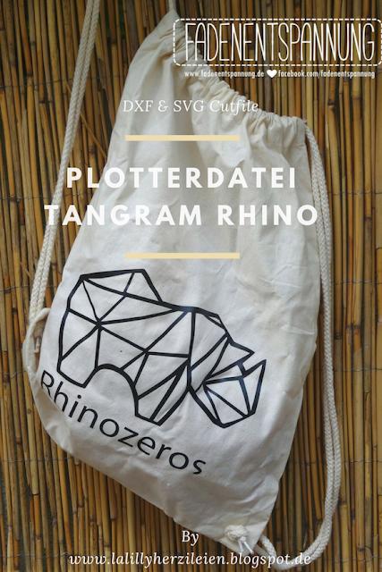 Die Outlines der Tangram Rhino Plottervorlage umreißen ein aus Dreiecken geometrisch zusammengesetztes Nashorn. Sie überzeugt durch die gradlinige Optik, die aktuell absolut im trend liegt.