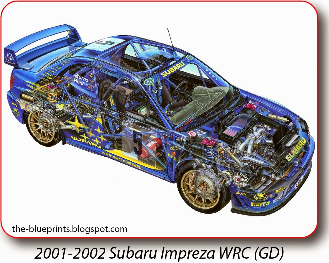 Scrap Car Buyers >> Vector Blueprints - Cars, Trucks, Busses and others: Subaru - Illustrations