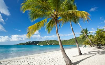 Beautiful Beaches of St. Thomas - A popular Cruise Port on Cruises Departing from New York / New Jersey.