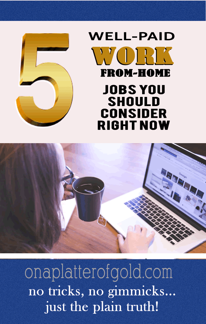 Top 5 Well-Paid And Lucrative Work-From-Home Jobs You Should Consider
