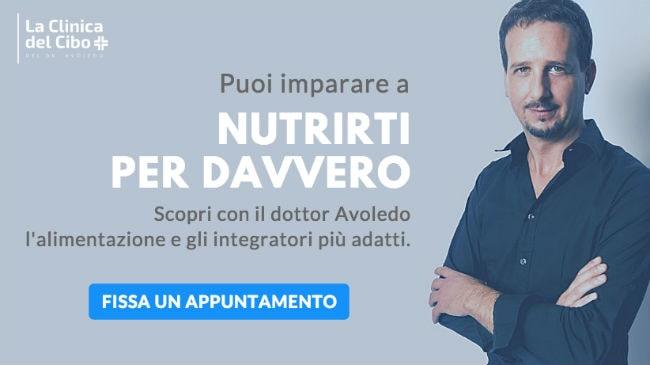 Impara a nutrirti meglio con il dottor Luca Avoledo
