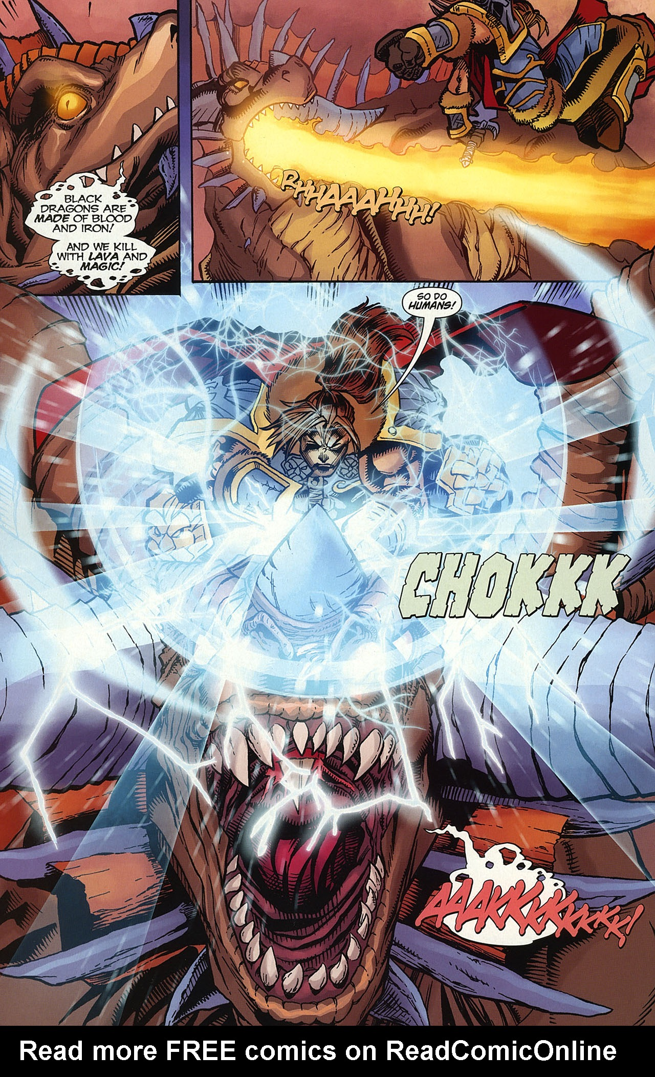 Read online World of Warcraft comic -  Issue #14 - 21
