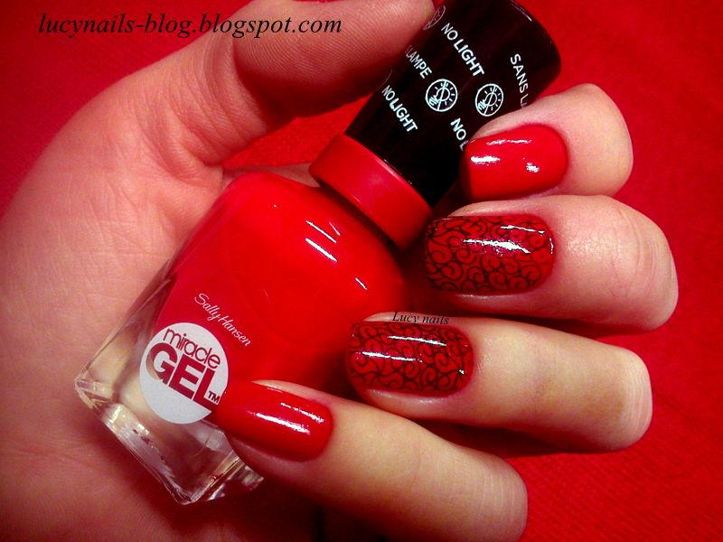 Sally Hansen Miracle Gel Red Eye nr 470