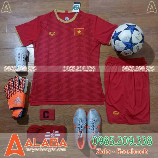 Áo đội tuyển Việt Nam đỏ 2019 sân nhà