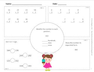 Common Core Classrooms: Common Core Math Spiral