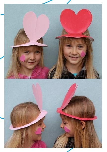 ไอเดีย DIY งานประดิษฐ์หมวกแฟนซีแห่งความรัก(DIY Valentines Day) และงานกิจกรรมต่างๆ