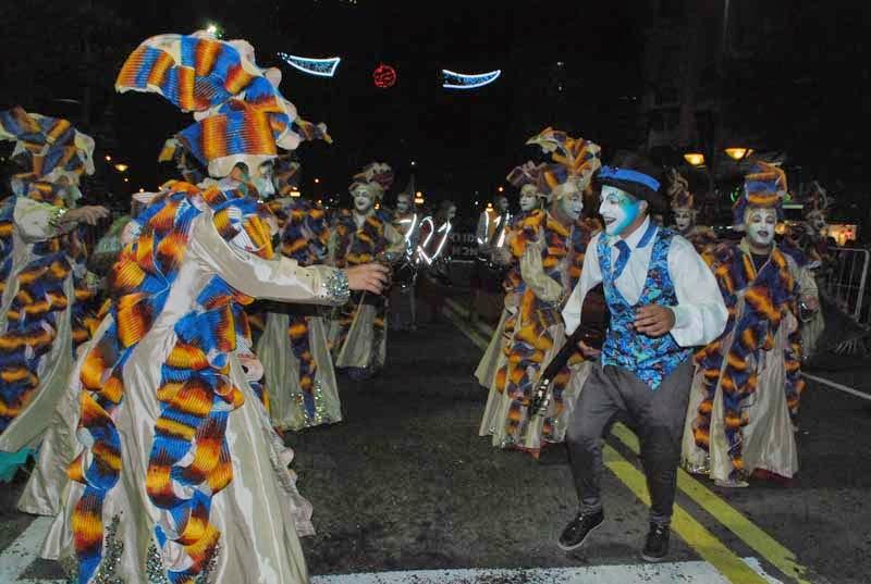 Desfile Inaugural del Carnaval. 2015. Curtidores de Hongos.
