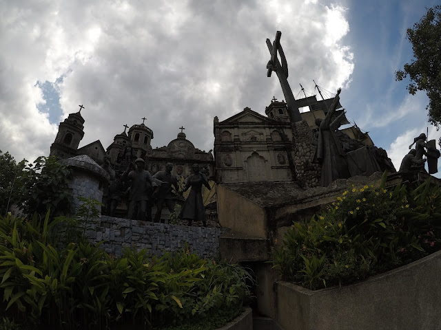 Cebuanos' deep devotion to the Holy Infant at the Heritage of Cebu Monument