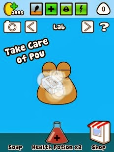 Pou is a virtual pet game as well as yous tin play the game on your  Pou v1.4.7 APK