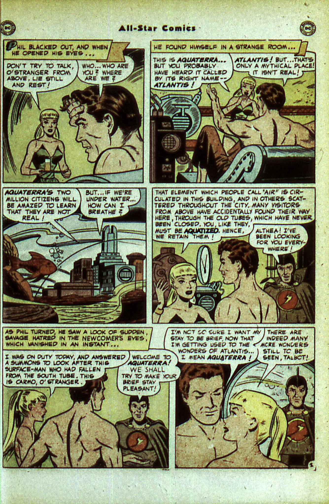 Read online All-Star Comics comic -  Issue #56 - 45
