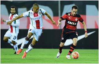 Palestino vs Flamengo en Copa Sudamericana 2017