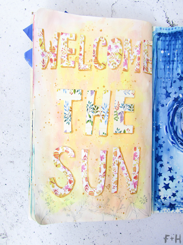 free summer art journaling prompts