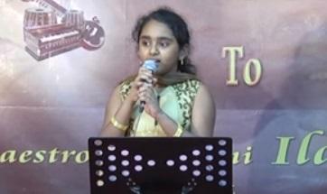 Kaatril Enthan Geetham Cover Samiksha