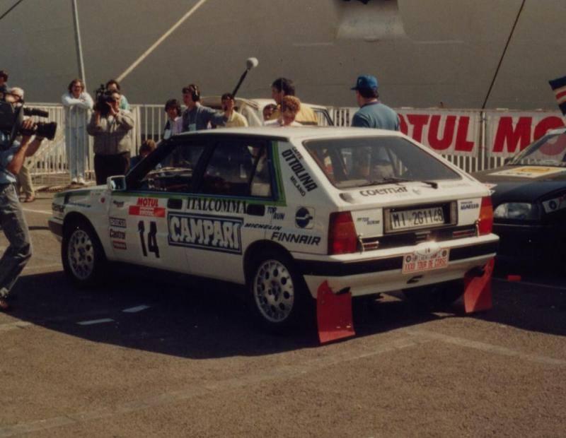 web rally  tour de corse