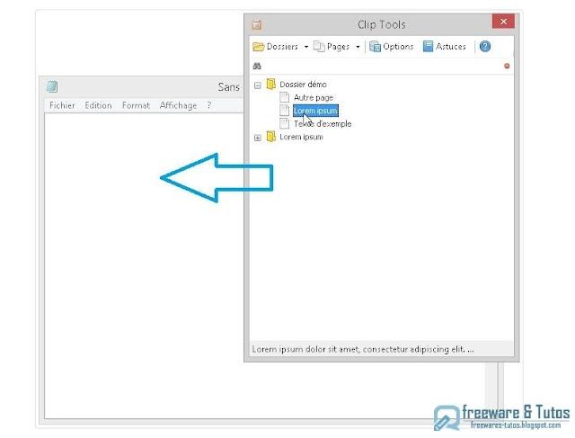 Clip Tools : un logiciel gratuit pour gérer vos mémos