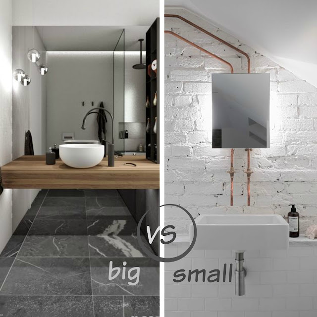 Hometrotter home style blog casa arredamento design for Bagno grande