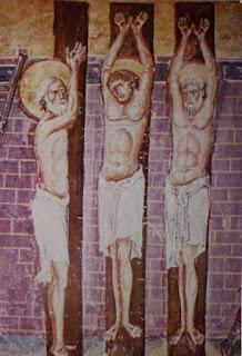 Христианские изображения «столба мучений»