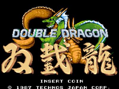 街機大型電玩機台雙截龍系列1+2遊戲+作弊碼(金手指),DOUBLE DRAGON I+II The Revenge!