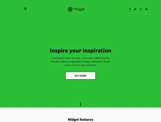 Midget - Personal Portfolio Template