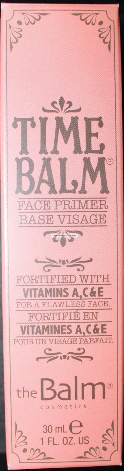 TheBalm's Time Balm Primer review
