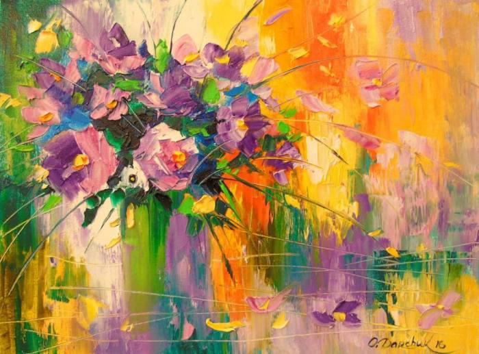 Украинский художник. Olga Darchuk