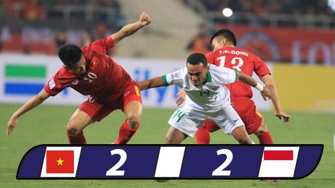 Hòa Indonesia, ĐT Việt Nam lỡ hẹn với chung kết