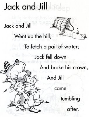 There's no place like First Grade!: Jack and Jill