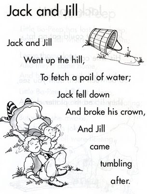 There S No Place Like First Grade Jack And Jill