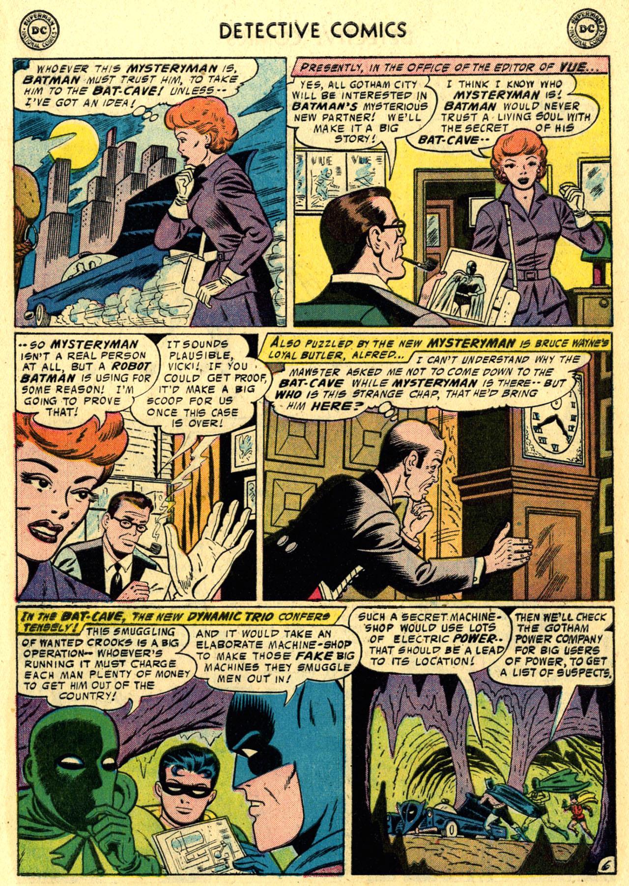 Read online Detective Comics (1937) comic -  Issue #245 - 8