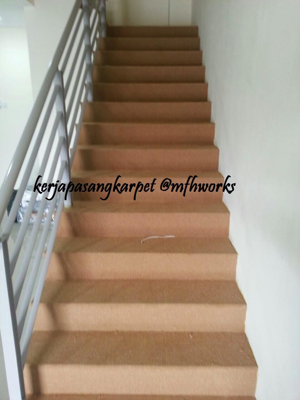 Feel The Uniqueness Pemasangan Karpet Tangga Rumah dan