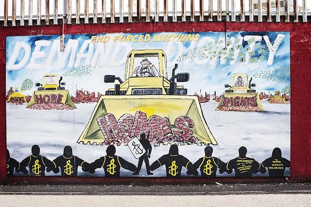 End Forced Evictions Mural