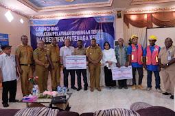 Penyerahan Dana BPM - KOTAKU Tahun 2019 ke Pemkab Manokwari