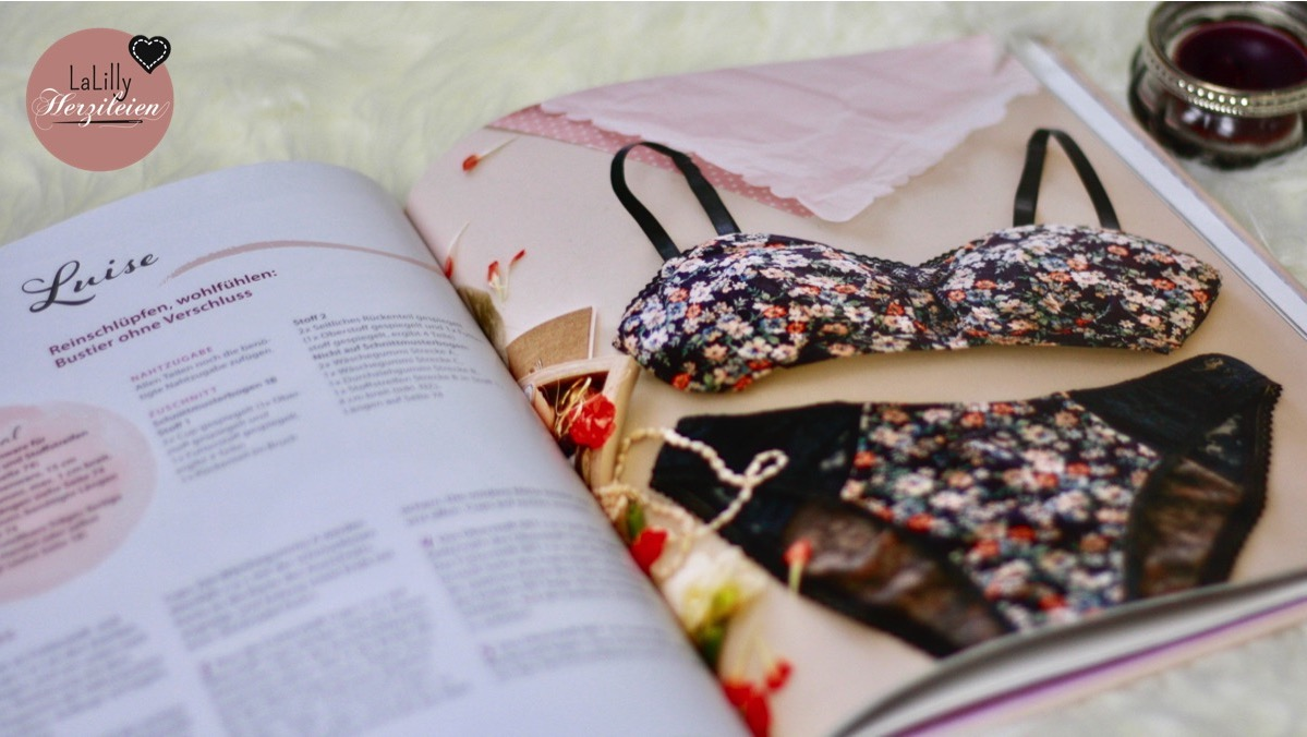 Unterwäsche selbernähen- das muss nicht bieder aussehen! Ein Buch voller schöner Modelle und Anleitungen stelle ich dir hier auf dem Blog vor.