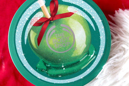 Body Shop - Glazed Apple Boddy Butter / Christmas Limited Edition.