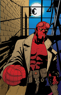 Hellboy commissioned  color art