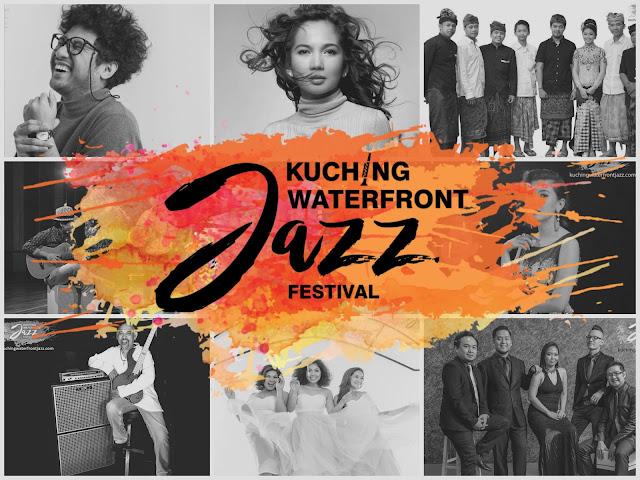 It's Today! - Kuching Waterfront Jazz Festival 2017