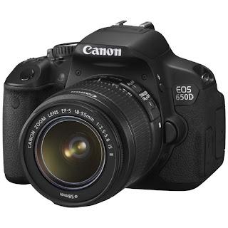 Canon EOS 650D - Lensa Kit 18