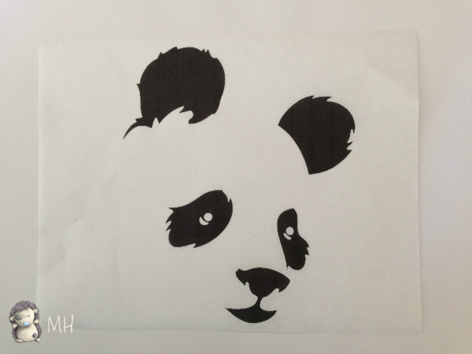 Papel freezer con panda