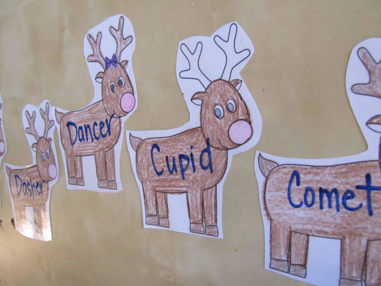 Home Preschool Unit Reindeer Fun And Cookies
